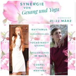 Synergie von Gesang und Yoga