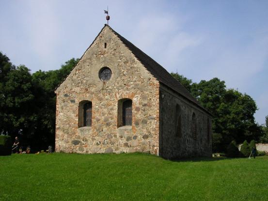 Startseite Dorfkirche in Grenz